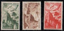 ALGERIE N° 9-10-11 P.a. (oblitérés) - Algeria (1924-1962)