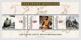 Liechtenstein 2019 MS MNH   500 Years First World Circumnavigation Ferdinand Magellan - Explorers