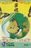 CHINA. PUZZLE. MARIPOSAS - BUTTERFLIES. ZGWTJT-2006-36(8-7). (100). - Rompecabezas
