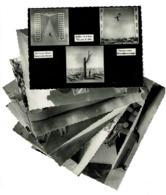 8 Cartes - Exposition Universelle & Internationale De Bruxelles 1958 - Pavillon De L'Urbanisme Salle Peynet - 6 Scans - Expositions Universelles