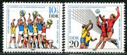 DDR - Mi 2814 / 2815 - ** Postfrisch (E) - 10+5-20Pf      Turn- Und Sportfest Leipzig - [6] Oost-Duitsland