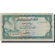 Billet, Yemen Arab Republic, 1 Rial, KM:11a, TB - Yémen