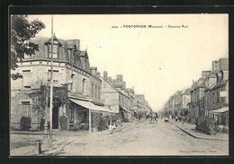 CPA Pontorson, Grande Rue - Pontorson