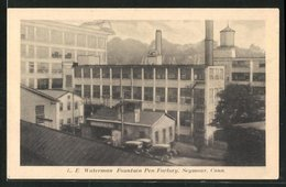 AK Seymour, CT, Waterman Fountain Pen Factory - Non Classificati