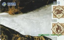 CHINA. PUZZLE. FAUNA. LEOPARDO - LEOPARD. XSBN2005-628(4-2). (056). - Rompecabezas