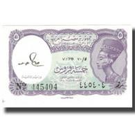 Billet, Égypte, 5 Piastres, KM:182j, NEUF - Egypte