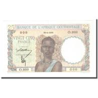 Billet, West African States, 25 Francs, 0000-00-00, Specimen, KM:38s, SPL+ - Ficción & Especímenes