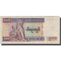 Billet, Myanmar, 500 Kyats, KM:79, TB - Myanmar