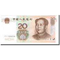 Billet, Chine, 20 Yuan, 1999, 1999, KM:899, SPL+ - Chine