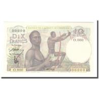 Billet, West African States, 10 Francs, 0000-00-00, Specimen, KM:37s, NEUF - Specimen