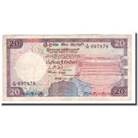 Billet, Sri Lanka, 20 Rupees, 1985, 1985-01-01, KM:93b, TB+ - Sri Lanka