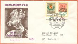 GERMANIA - GERMANY - Deutschland - ALLEMAGNE - 1978 - Tag Der Briefmarke - FDC - Bonn - BRD
