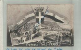 CPA ITALIE - SALUTI DALLA FRONTIERA ITALO-FRANCESE Multicarte  Ventimiglia  Septembre 2019 07 - Douane