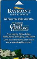 Baymont Inns & Suites - Hotel Room Key Card - Hotel Keycards