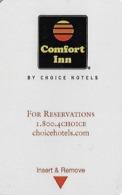 Comfort Inn - Hotel Room Key Card - Hotelsleutels (kaarten)