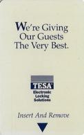 Generic Tesa Hotel Room Key Card With CPICA 12/99 - Hotelsleutels (kaarten)