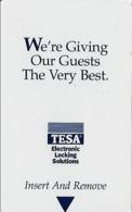 Generic Tesa Hotel Room Key Card With CPICA 2/00 - Hotel Keycards