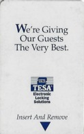 Generic Tesa Hotel Room Key Card With PLTG 03/02 - Hotel Keycards