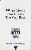 Generic Tesa Hotel Room Key Card With Cpi 2003504 07/02 - Hotel Keycards