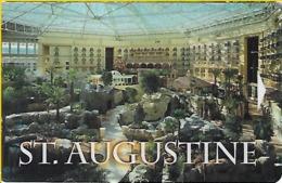 St. Augustine Hotel Room Key Card - Hotel Keycards