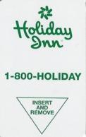 Holiday Inn Hotel Room Key Card - Hotel Keycards