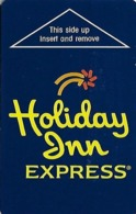Holiday Inn Express Hotel Room Key Card - Hotelsleutels (kaarten)
