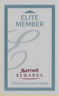 Marriott Hotel Room Key Card With Www.plicards.com - Hotelsleutels (kaarten)