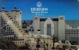 Herods Sheraton Resort Eilat Hotel Room Key Card - Hotel Keycards