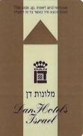 Dan Hotels Israel Hotel Room Key Card - Hotel Keycards