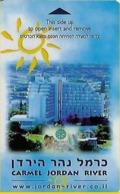 Carmel Jordan River Hotel Room Key Card - Hotel Keycards