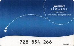 Marriott Rewards Card - Hotel Keycards