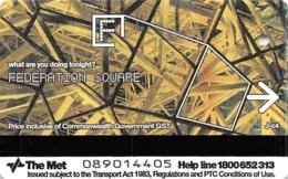 MetCard Paper Ticket From 2004 - Tickets - Vouchers