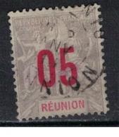 REUNION           N°     YVERT   73      OBLITERE       ( Ob  5/31 ) - Réunion (1852-1975)