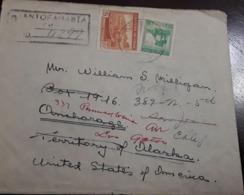 O) 1938 CHILE, FROM ANTOFAGASTA, COPPER MINE, FISHING IN CHILOE, TO USA - Chile