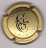 Capsule Champagne CHEURLIN & Fils ( 14a ; Or Foncé Et Noir ) {S43-19} - Champagne