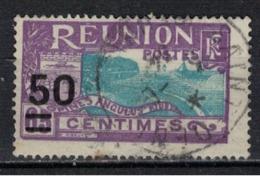 REUNION           N°     YVERT   124      OBLITERE       ( Ob  5/31 ) - Reunion Island (1852-1975)