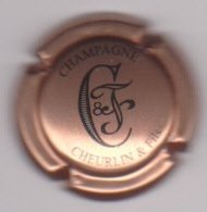 Capsule Champagne CHEURLIN & Fils ( 14c ; Cuivre Et Noir ) {S43-19} - Champagne
