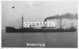 Wachtfels Photo Postcard - Comercio