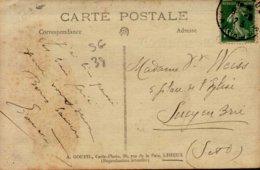 14-LISIEUX... PROCESSION RELIGIEUSE  ..CPA ANIMEE - Lisieux