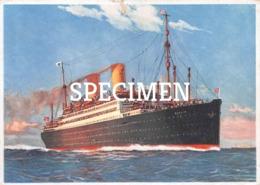 Norddeutscher Lloyd Bremen  Berlin - Dampfer