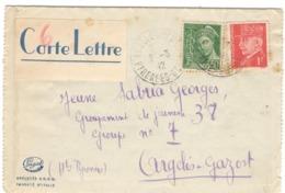 21907 - Pour Chantier De Jeunesse  N° 38 - Marcophilie (Lettres)