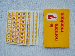 Cartes : LE NOMBRE MAGIQUE - Trading Cards