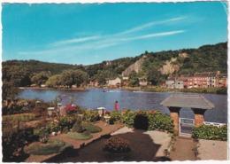 Yvoir - La Meuse, L'Ile Et Les Bains - Yvoir