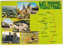 Les Ardennes Touristiques: Houffalize TANK/CHAR - Dochamps LION/LEEUW, Bastogne, La Roche, Nisramont - La-Roche-en-Ardenne
