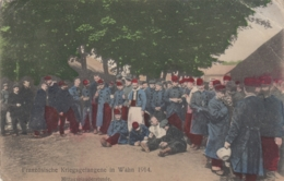AK - WK I - Franz. Gefangenen In Wahn (Kökn) 1914 - Mittagsplauderstunde - Weltkrieg 1914-18