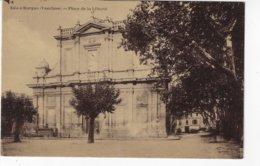 84 - ISLE S/SORGUE - Place De La Liberté - 1928 (S173) - L'Isle Sur Sorgue