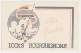 Buvard 20.8 X 13.4 DOCKS BOURGUIGNONS - Buvards, Protège-cahiers Illustrés