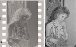 1960 From Original Negative Home Photo Session 15x10cm 4x6in Vintage ART Photo Beautiful Woman Man Male Russia USSR 8270 - Beauté Féminine (1941-1960)