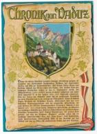 Fürstentum Principality Principauté Liechtenstein; Chronik Von Vaduz - Liechtenstein
