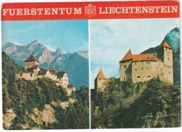 Fürstentum Liechtenstein; Schloß Vaduz & Schloß Gutenberg - Liechtenstein